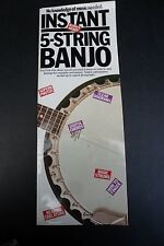 Instant 5-String Banjo By Sokolow, Fred