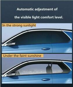 VLT75%-45% 3 Mil Photochromic Window Film Car building Smart Window solar Tint