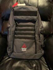 NWT Reebok CrossFit Games Gym Training Sport Backpack Gray Black FI9310