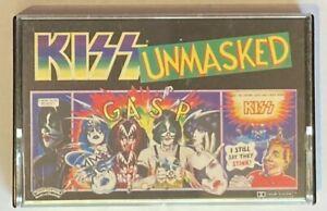 KISS Unmasked Cassette Tape Australian Made 7144 032