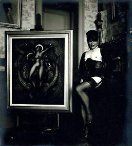 Pierre MOLINIER -  Photographie originale. « Autoportrait 1970 »