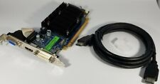 Sapphire AMD HD 3450 512MB PCI-E VGA DVI HDMI Cable Silent Video Graphics Card