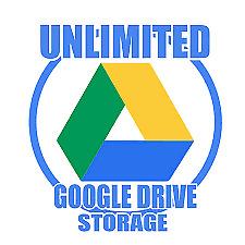 Unidad de almacenamiento en la nube de Google ilimitada