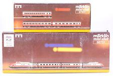 Märklin Z #88731 & #87931 DR VT11.5 Tee Train Set, 1997 Only, Both New in Box