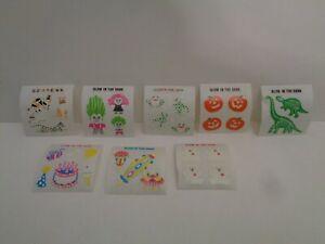 Vintage Sandylion Sticker 8 versch. Mini Sticker Glow in the Dark  90er J.