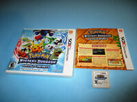 Pokemon Mystery Dungeon Gates to Infinity Nintendo 3DS w/Case & Manual
