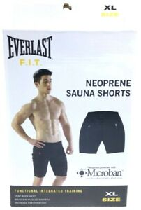 Everlast F.I.T Neoprene Sauna Shorts Size XL Functional Integrated Training New