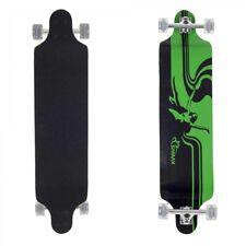 SAMAX Longboard Skateboard Cruiser komplett Set retro street ABEC-9 105x25 cm