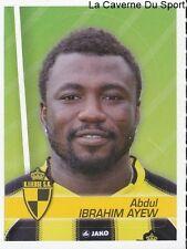 198 ABDUL IBRAHIM AYEW BELGIQUE SK.LIERSE STICKER FOOTBALL 2012 PANINI