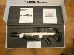 BNIB The Boring Company Not A Flamethrower+ $5 Letter + Manual + Wall mount