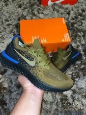 "Nike Epic React Flyknit UK 10 ""Olive-Flak Black"" EU 45"