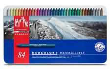 Caran d'Ache NEOCOLOR II Wax Oil Pastel 84 Colors Water-soluble Creamy Artist