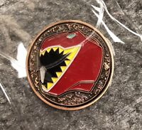 Power Rangers Dino Charge Red Ranger Gold Coin (Power Morphicon Exclusive)