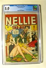 Nellie The Nurse #10 (Timely December 1947) CGC 5.0 Off-White to White Pages