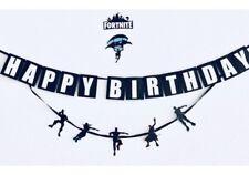 Fortnite inspired birthday banner