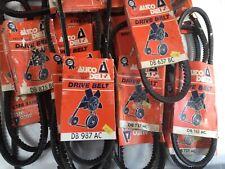 Auto Delta Drive belts joblot resale assorted 20 total