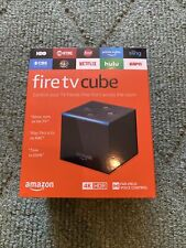Amazon Fire TV Cube 1st Generation Alexa Smart Assistant