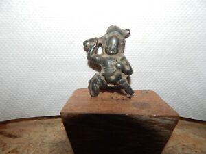 Antique 12th C  Tibetan Bronze  Amulet or Thogchak of Acala not a Statue
