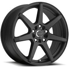 "17"" Inch Raceline 131B Evo 17x7.5 4x100/4x108 +40mm Black Wheel Rim"