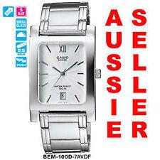 Men's Quartz (Battery) Rectangle Analogue Wristwatches