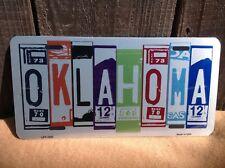 Oklahoma License Plate Art Wholesale Novelty Bar Wall Decor