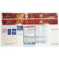New Ford 901 Select-O-Speed Complete Decal Set