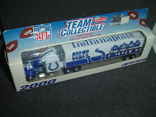 Indianapolis Colts NFL Truck 2000 Rare Gift Toy Limited Edition Team Collectible
