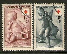 SERIE TIMBRES N° 1048-1049 OBLITERES TB