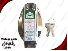 YAMAHA RD350 RD250 PETROL FUEL GAS TANK FILLER CAP ASSEMBLY + EMBOSSED KEYS