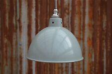 Gris Vintage Industriel Petite Suspension Lumière Pendentif BL2SR4