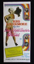 BETTY BLOKKBUSTER FOLLIES 1976 Rare daybill movie poster Reg Livermore LGBTQI