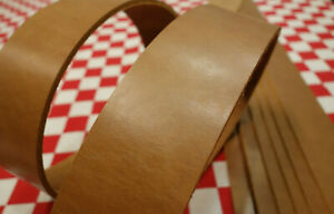LIGHT BROWN LATIGO LEATHER STRAP FOR PROJECTS, MANY SIZES AVAILABLE