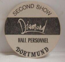 Neil Diamond - Old Original Concert Tour Cloth Backstage Pass *Last One*