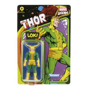 "Kenner Marvel Legends The Mighty Thor Retro 3.75"" Figures - Loki"