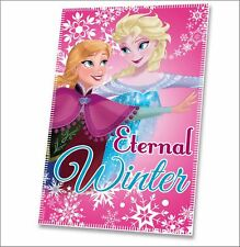 Disney Frozen 'Eternal Winter' Fleece Blanket - Soft comfort to snuggle up in