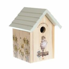 Wrendale Designs Sparrow Wooden Bird House