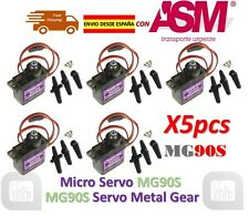 5pcs MG90S 9g Metal Gear Upgraded SG90 Digital Micro Servos for Arduino