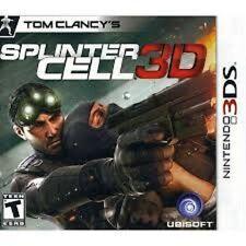 SPLINTER CELL 3D GAME GIOCO NINTENDO DS NUOVO SIGILLATO 3DS