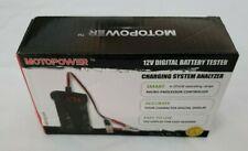 12V Digital Car Battery Tester Voltmeter and Alternator Charging System Analyzer
