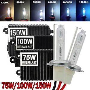 H1 H3 H4 H7 H8 H11 9005/6 75W/100W/150W Car HID Xenon Headlight Bulb Ballast Kit