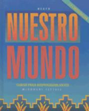 Nuestro Mundo: Curso Para Hispanohablantes by McDougal Littell: Used