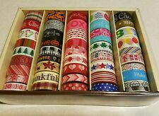 Reflections Washi Tape Planner Craft Supplies 45 rolls Holiday Christmas