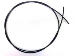 1m BLACK HEAT SHRINK TUBE 1.0mm hair rigs carp fishing