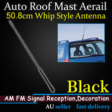 50.8cm 20inch Whip Mast Car Roof AM FM Radio Antenna Amplifier Signal Reception