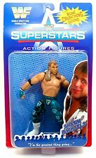WWF Superstars Shawn Michaels w/ Bone Crunching Sound Figure by JAKKS 1996