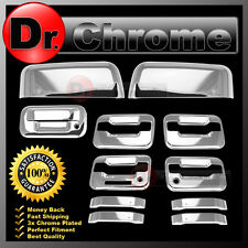 09-14 Ford F150 Chrome HALF Mirror+4 Door Handle+keypad+PSG KH+Tailgate Cover