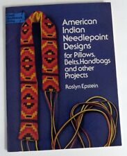 American Indian Needlepoint Designs for Pillows Handbags and Other Projects 1973