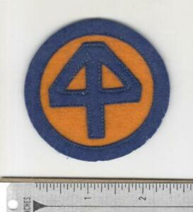 Pre WW 2 US Army 44th Infantry Division Layered Wool / Felt Patch Inv# N239