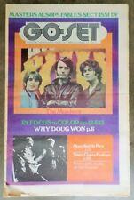GO-SET Vintage Magazine August 16 Vol 4 No 33 1969 Monkees Parkinson Masters