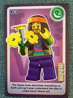 Lego Create The World Individual Card. Number 108: Hippie. Sainsbury's.